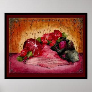 Ruby Wedding Anniversary: Jupigio-Artwork.com Poster