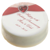 Ruby Wedding Anniversary Oreo Cookies
