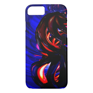 Ruby Whirlwind Abstract iPhone 7 Case