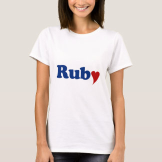 Ruby with Heart T-Shirt