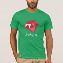 Rubyist Ruby Programmer Green Shirt