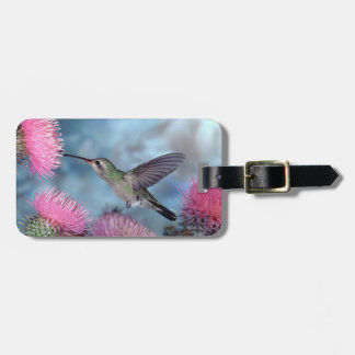 Rubythroat Hummingbird Luggage Tag