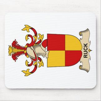 Ruck el escudo de la familia tapete de ratones