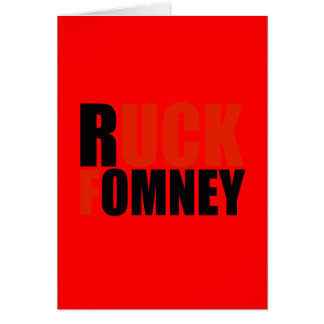 RUCK FOMNEY- CARD