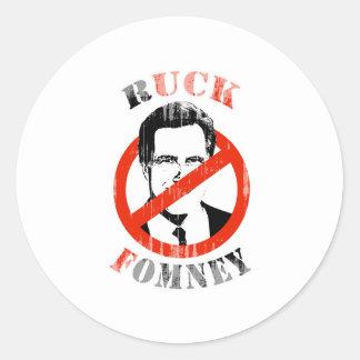 RUCK FOMNEY -.png Round Sticker