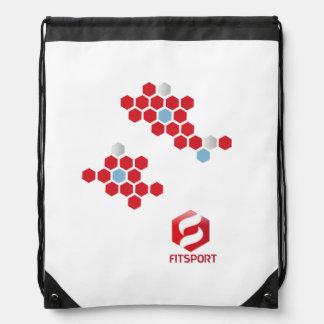 Rucksack Fitsport cord Drawstring Bag