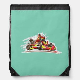 Rucksack karting drawstring backpack
