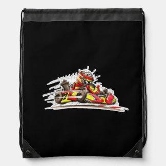 Rucksack karting drawstring bag