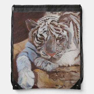 Rucksack Tiger cord Drawstring Backpack