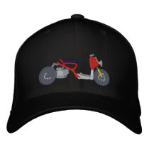 Ruckus Scooter Embroidered Hat
