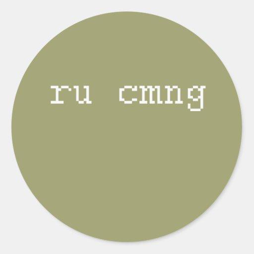 rucmng pegatina