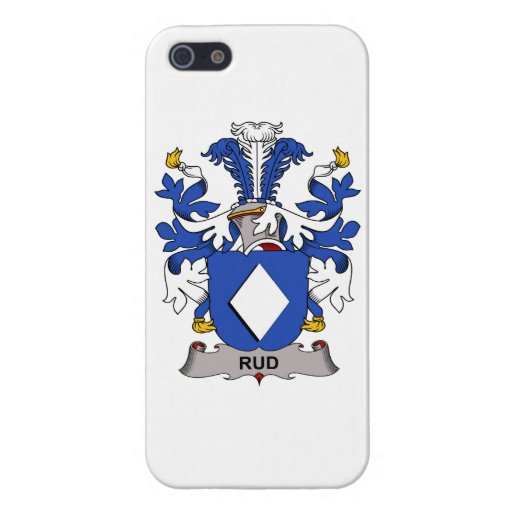 Rud Family Crest Cases For iPhone 5