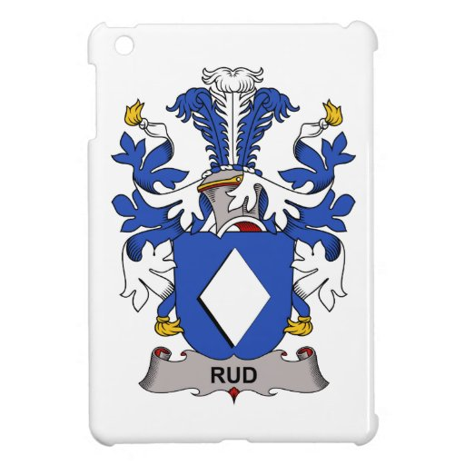 Rud Family Crest Cover For The iPad Mini