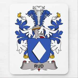 Rud Family Crest Mouse Pad