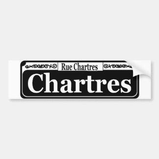 Ruda Chartres Pegatina Para Auto