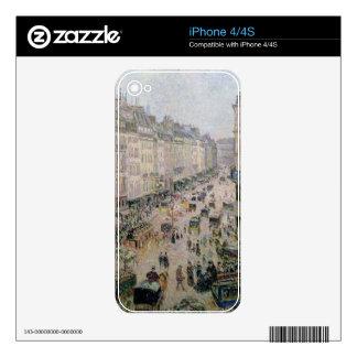 Ruda de l'Epicerie, Ruán, en una tarde soleada, 18 iPhone 4S Skins