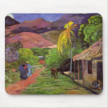 """Ruda de Tahití"" - Paul Gauguin Mousepad Alfombrillas De Raton"