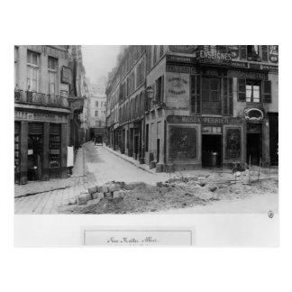 Ruda Maitre Albert París, 1858-78 Postal