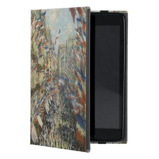 Ruda Montorgueil en París de Claude Monet iPad Mini Funda