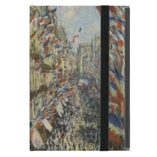 Ruda Montorgueil en París de Claude Monet iPad Mini Cárcasas