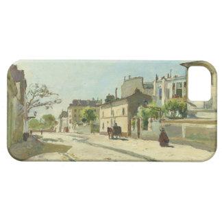 Ruda Notre Dame París de Johan Barthold Jongkind iPhone 5 Carcasas