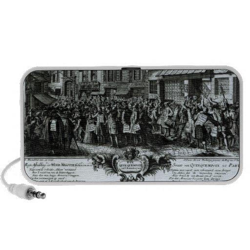 Ruda Quinquempoix en 1720 iPod Altavoces
