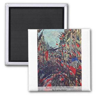 Ruda Santo-Denis en el nacional de Claude Monet Imán Para Frigorífico