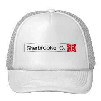 Ruda Sherbrooke, placa de calle de Montreal Gorros