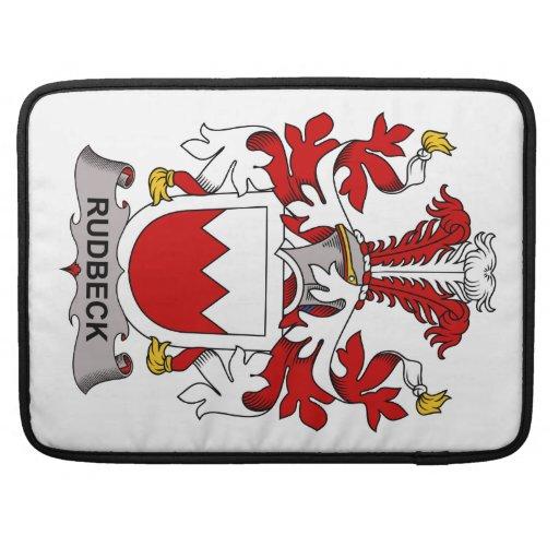 Rudbeck Family Crest MacBook Pro Sleeve