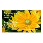 Rudbeckia floreciente plantilla de tarjeta de negocio
