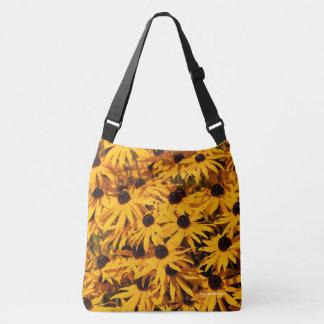 Rudbeckia Fulgida / Orange Coneflower Crossbody Bag