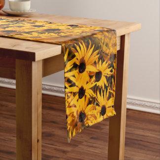 Rudbeckia Fulgida / Orange Coneflower Long Table Runner