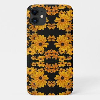 Rudbeckia Garden Flowers Floral iPhone 11 Case