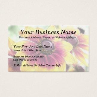 Rudbeckias At Daybreak Business Card