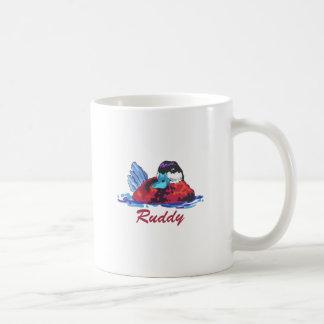 RUDDY DUCK CLASSIC WHITE COFFEE MUG