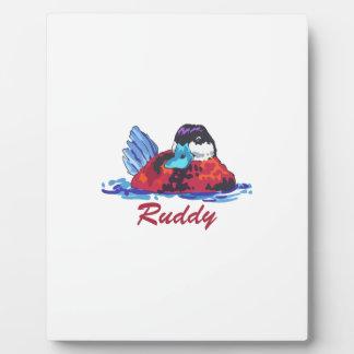 RUDDY DUCK PLAQUE