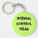 Rude Auditor Accountant Name - Control Freak Keychains