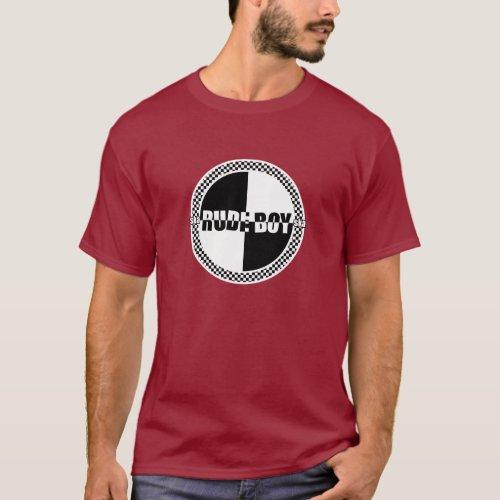 Rude Boy Checker Dark T_Shirt
