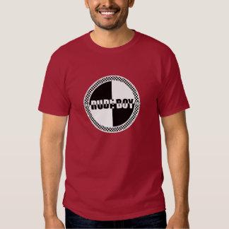 Rude Boy Checker Dark Tshirts