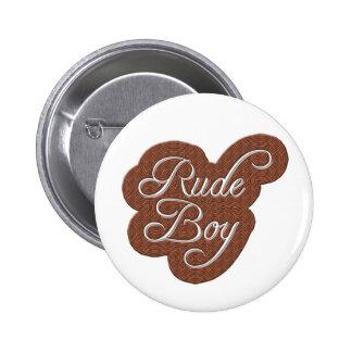 Rude Boy Pinback Button