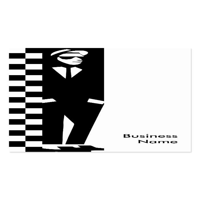 rude boy ska business card template on popscreen