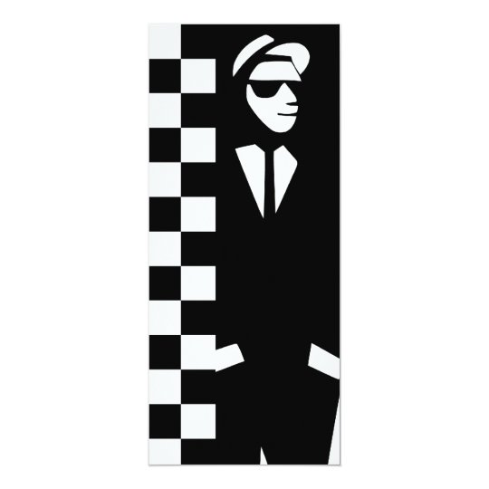 rude boy : ska card