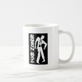 Rude Boy Zombie Classic White Coffee Mug