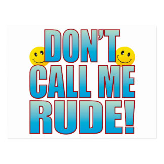 Rude Call Life B Postcard