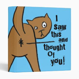 Rude cat binders