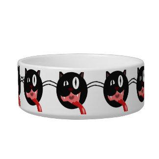rude cat cat bowls