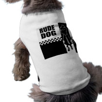 Rude Dog Doggie Tee