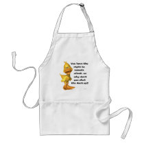 Rude Duck Adult Apron