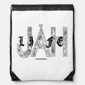 RUDE EYE LAND dESIGNS 1973 Drawstring Backpacks