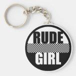 Rude Girl Keychain